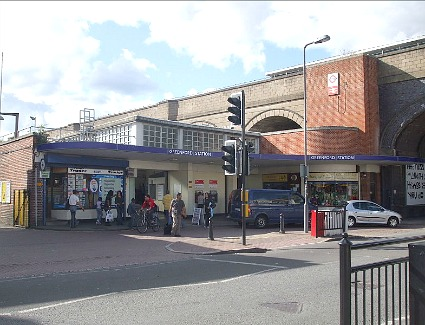 Greenford Train Station, London