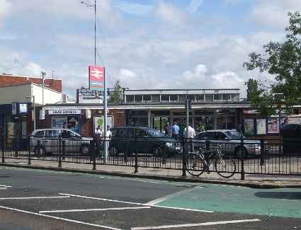 Enfield Town Train Station Address