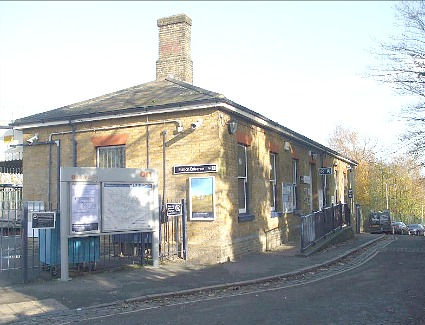 Westcombe Park Train Station, London