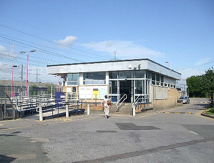 Rainham Train Station, London