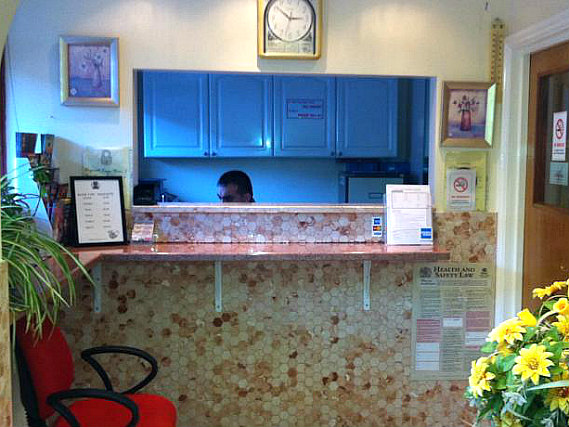 City Inn Express has a 24-hour reception so there is always someone to help