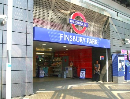 Finsbury Park Train Station, London