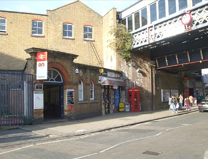 Deptford Train Station, London