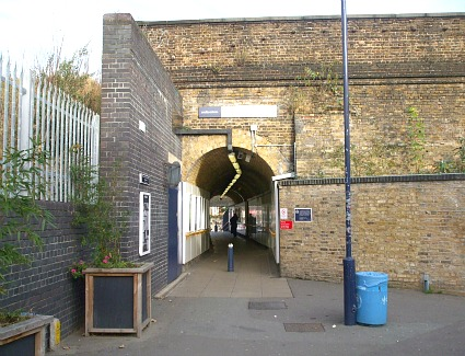 Hither Green Train Station, London