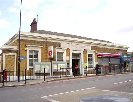 New Cross Gate Train Station Address