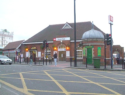 Forest Gate Train Station, London