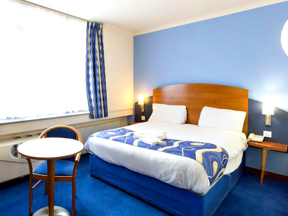 Get a good night's sleep in your comfortable room at London Wembley International Hotel