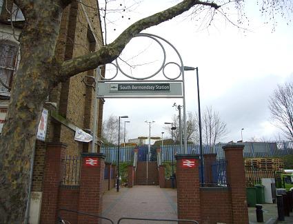 South Bermondsey Train Station Address Rotherhithe New Road