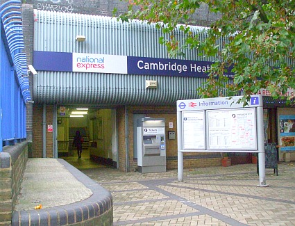 Cambridge Heath Train Station, London