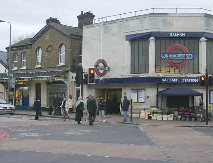Balham Train Station Address