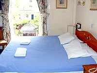 A double room at Royal Norfolk Hotel - airy and bright