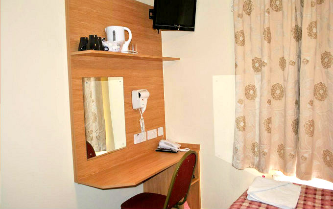 Double Room at Carlton Hotel