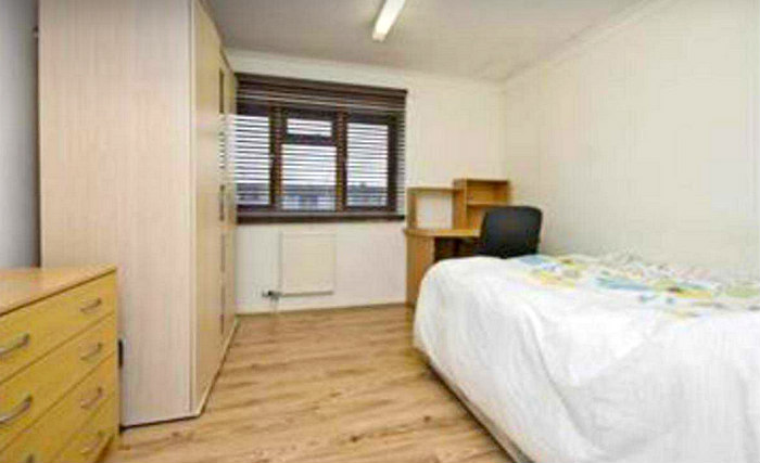 Single rooms at Stratford Budget Rooms provide privacy