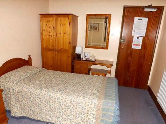 Single rooms at Cottage Guest House provide privacy