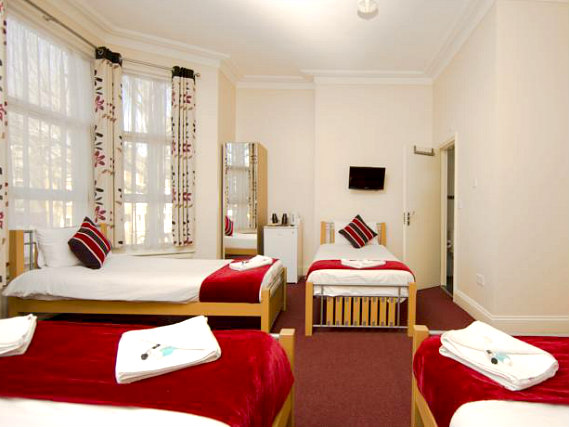 Family rooms at Golden Strand Hotel