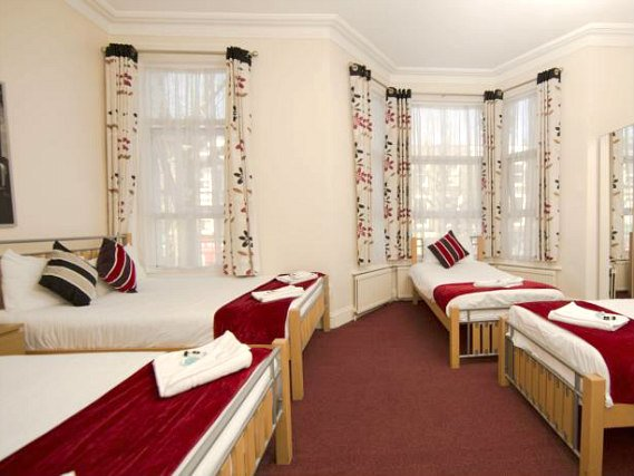 Rooms are simple but clean at Golden Strand Hotel