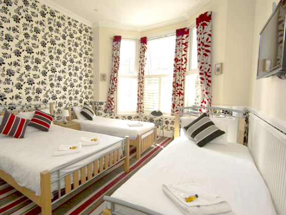 Quad rooms at Golden Strand Hotel are the ideal choice for groups of friends or families