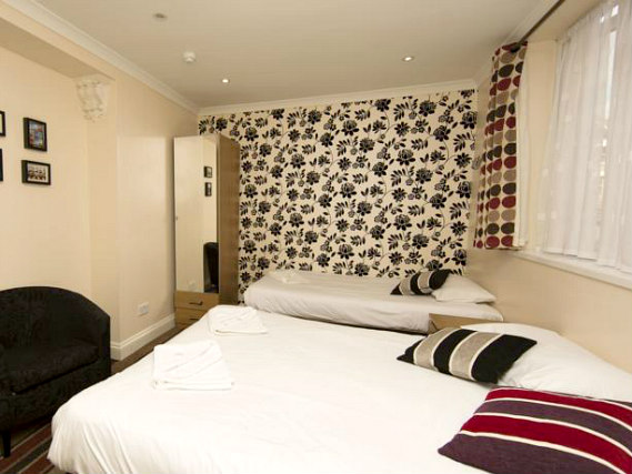 Triple rooms at Golden Strand Hotel are the ideal choice for groups of friends or families