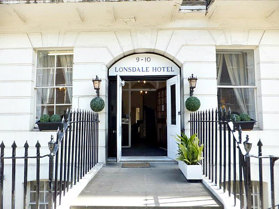 Lonsdale hotel is situated in a prime location in Holborn close to British Museum