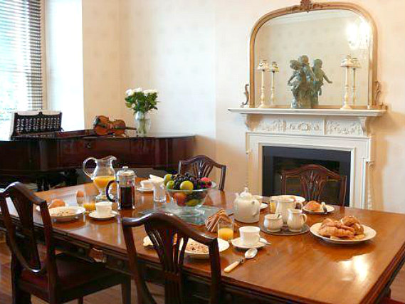 Get your day off to a great start with a continental breakfast at BB London Organic