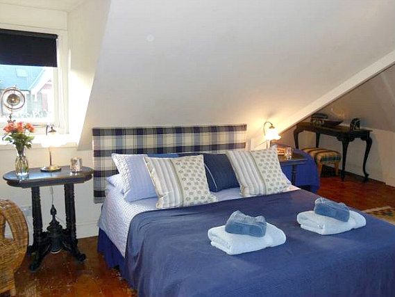 A double room at BB London Organic is perfect for a couple