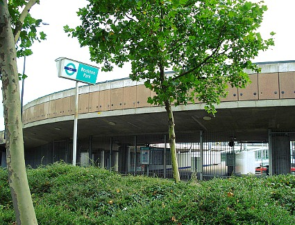 Beckton Park Tube Station, London