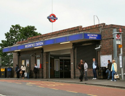 Becontree Tube Station, London