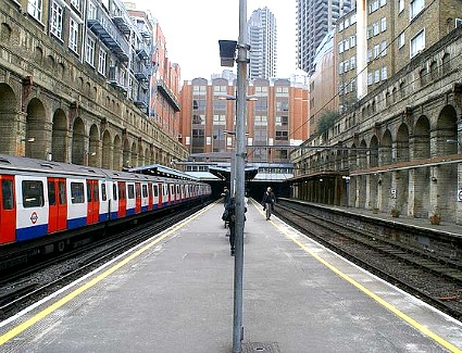 Liverpool St. Station to Wembley Central by train - London