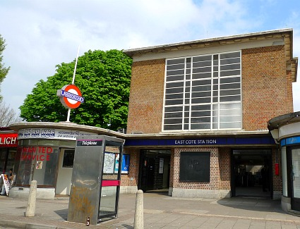 Eastcote Tube Station, London
