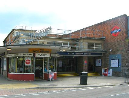 South Harrow Station Address Northolt Road London