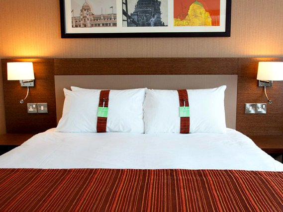 Get a good night's sleep in your comfortable room at Holiday Inn London Wembley