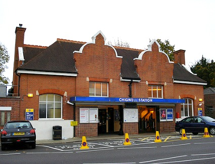 Chigwell Tube Station, London