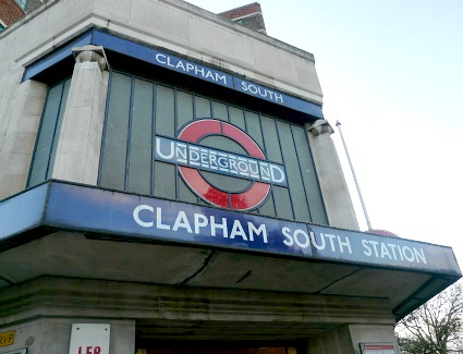 Clapham South Tube Station, London
