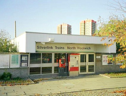 North Woolwich Train Station, London