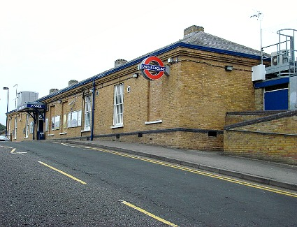 Pinner Tube Station, London