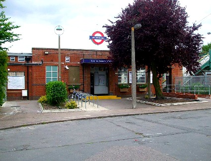 Roding Valley Tube Station, London