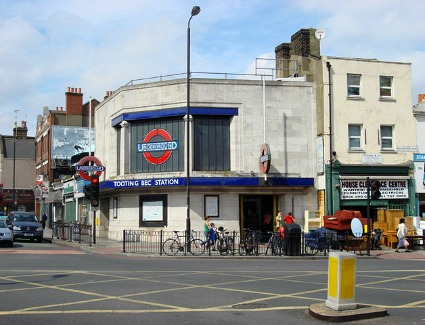 Tooting Bec Tube Station, London