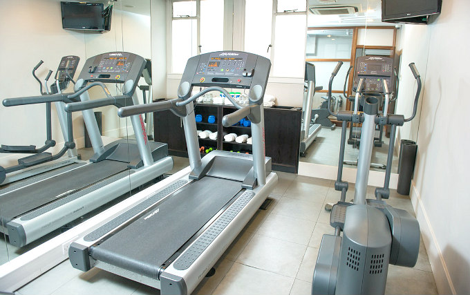 Gym at Best Western Mornington