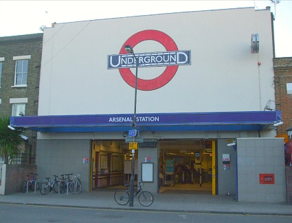 Arsenal Tube Station, London