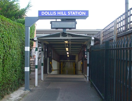 Dollis Hill Tube Station, London