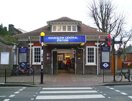 Hounslow Central Tube Station, London