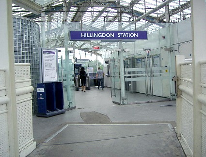 Hillingdon Tube Station, London