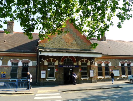 Ruislip Tube Station, London