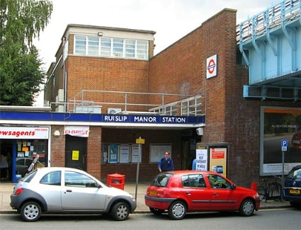 Ruislip Manor Tube Station, London