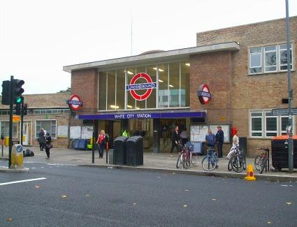 near tube
