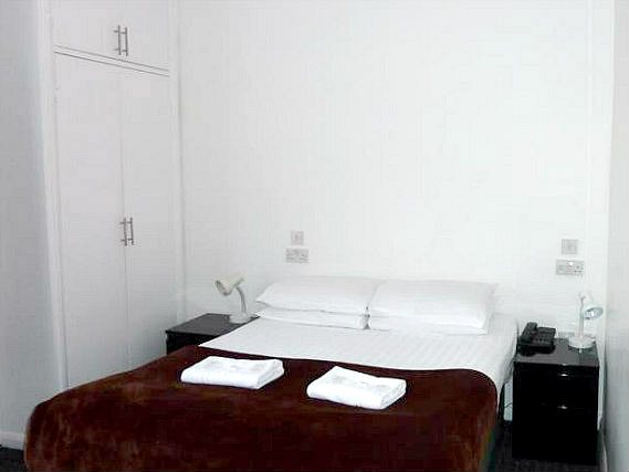 A typical room at Notting Hill Hotel