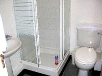 A typical Bathroom at Palace Court Hotel London