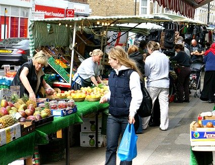 North End Road Market, London