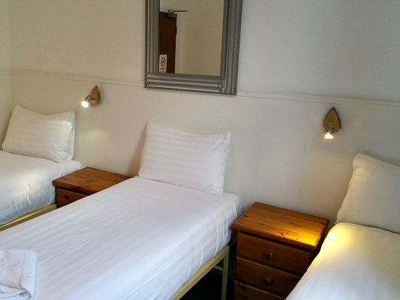 Triple rooms at Princess Hotel are the ideal choice for groups of friends or families