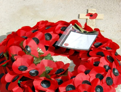 Remembrance Sunday at Cenotaph